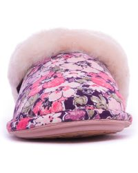 Bedroom Athletics - Pink Violet Mule Liberty Print Slippers - Lyst