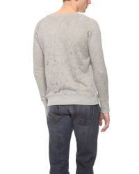IRO Gray Tobiah Sweatshirt for men