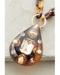 Arkimia | Brown Venezia Pendant Necklace | Lyst