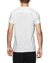 French Connection Gray Block Sport Lily Tee for men