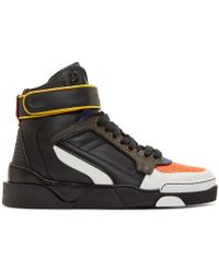 Givenchy Multicolor Tyson High_top Sneakers for men