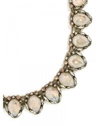 BaubleBar Natural Firestone Collar