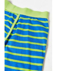 Urban Outfitters | Green Striped Boxer Brief for Men | Lyst