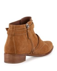 Tabitha Simmons - Natural Windle Double-Buckle Boots - Lyst