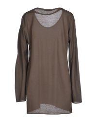 Lamberto Losani - Gray T-shirt - Lyst