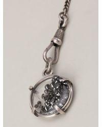 Ann Demeulemeester | Metallic Layered Chain Necklace | Lyst