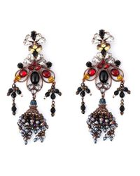 DSquared² | Multicolor Flower Earrings | Lyst