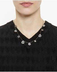 Kimberly Mcdonald - White Nine Diamond Slice Necklace - Lyst