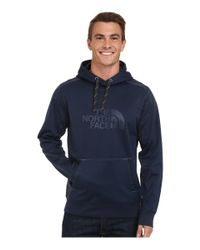 The North Face - Blue Ampere Pullover Hoodie for Men - Lyst