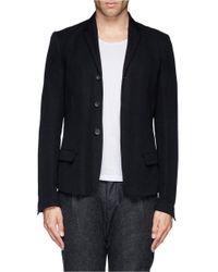 The Viridi-anne - Black Twill Blazer for Men - Lyst