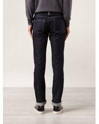 3x1 Blue M3 Straight Jeans for men
