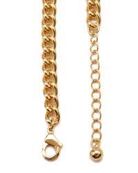 Forever 21 Metallic Rhinestone-encrusted Statement Necklace