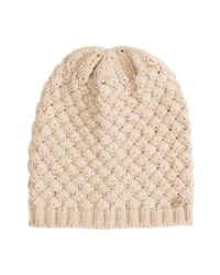 Billabong - Natural 'holidaze' Beanie - Lyst