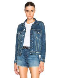 AMO Blue Pop Jacket