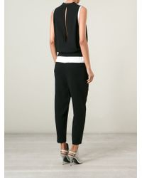 Helmut Lang - Black 'Torsion' Jumpsuit - Lyst
