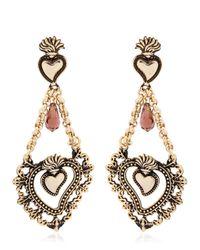Mercantia | Brown Tindari Earrings | Lyst