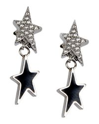 Thierry Mugler Black Earrings