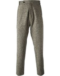 Societe Anonyme - Gray Tapered Trousers for Men - Lyst