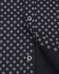 Ted Baker Blue Belgym Printed Shirt for men