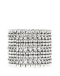 Philippe Audibert | Metallic 'neva' Flower Bead Cuff Bracelet | Lyst