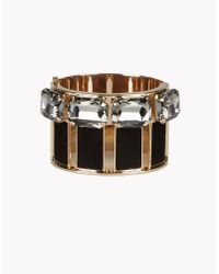 DSquared² - Metallic Smart Strass Armlet - Lyst