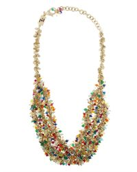 Rosantica By Michela Panero | Metallic Ii Mondo Agate Bead Necklace | Lyst
