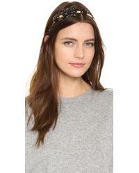 Marni - Strass Hairband - Black - Lyst