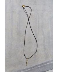 Urban Outfitters | Black Konsidine Needle Necklace | Lyst