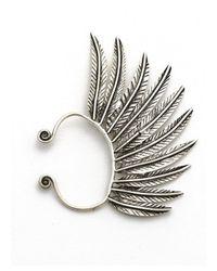 Natalie B. Jewelry | Metallic Natalie B. Pegasus Ear Cuff In Silver | Lyst