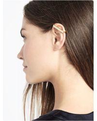 BaubleBar Metallic Ice Bar Ear Cuff