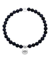 Melissa Odabash | Blue Rhodium & Aqua Pisces Bracelet | Lyst