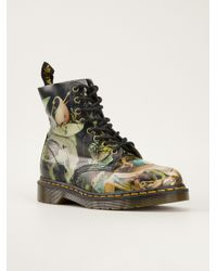 Dr. Martens Multicolor Pascal Printed Boots