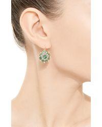 Arman Sarkisyan - Green Tsavorite and White Diamond Cupcake Earrings - Lyst