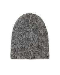 Forever 21 | Black Chunky Knit Fold-over Beanie | Lyst