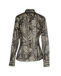 Robert Friedman - Green Shirt - Lyst