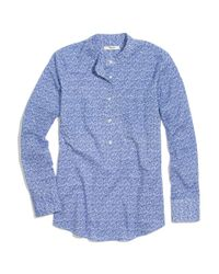 Madewell Market Popover In Blue Floral