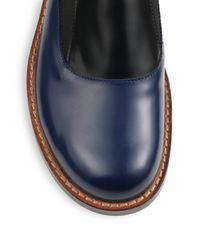 Marni - Leather Colorblock Moccasins for Men - Lyst