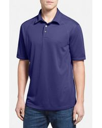 Tommy Bahama | Purple 'firewall Spectator' Polo for Men | Lyst