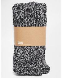 ASOS - Black Welly Socks for Men - Lyst