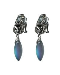 Alexis Bittar | Blue Kinetic Ruthenium Traveling Clip | Lyst