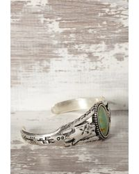 Forever 21 | Green Peyote Bird Turquoise Cuff | Lyst