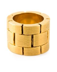 Acne Studios Metallic 'Elisa' Ring