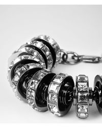 AllSaints Gray Thalia Bracelet