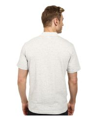 Lacoste - White L!ve Jaspe Jersey Slim Fit Fancy Polo for Men - Lyst