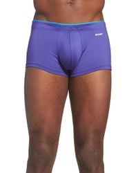 2xist | Blue 'sliq Micro' Trunks for Men | Lyst