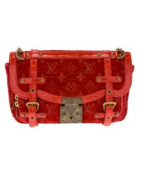 Louis Vuitton Red Limited Edition Bag