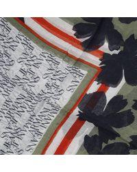 Armani Jeans | Green Scarf | Lyst