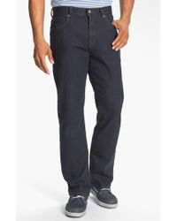 Cutter & Buck Black 'madison Park' Relaxed Fit Jeans for men