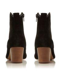 Steve Madden Black Hipstir Western Low Boots