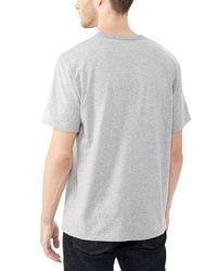 Alternative Apparel - Metallic Nostalgia Heavyweight Mock Twist T-shirt for Men - Lyst